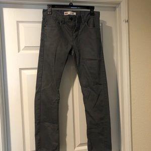Men's 28x28 Gray Slim jeans